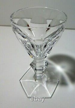 VINTAGE Baccarat Crystal HARCOURT (1841-) Set 4 Sherry Wine 4 1/2 Made France