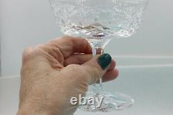 Vintage WATERFORD Crystal Champagne Coupe Wine Sherbet Glass Set of 11 EUC