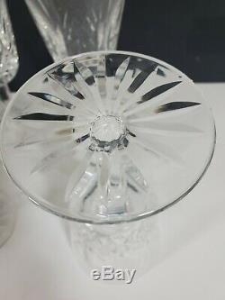 Vintage Waterford Crystal Lismore Water/Wine Glasses-6 7/8 Set Of 8