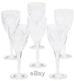 WATERFORD JOHN ROCHA Crystal Signature Set 6 Red Wine Glasses NEW IN BOX