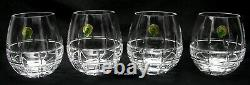 Waterford Barware Stemless Wine Glasses 12oz NWT Set of 4