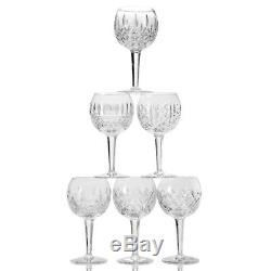 Waterford Crystal 6 Patterns of the Sea 6-Piece Balloon Wine Glass Set