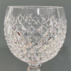 Waterford Crystal 7.5 Hock Wine Glasses Alana Set Of 6