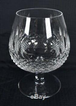 Waterford Crystal Colleen Tall Brandy Balloon Snifter Glass Set Of 4 Signed