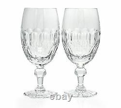 Waterford Crystal Curraghmore Iced Beverage Set of 2 Glasses #1054672 New