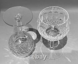 Waterford Crystal Set Of 2 Colleen Oversized Wine Balloon Hocks 7-3/4 Signed
