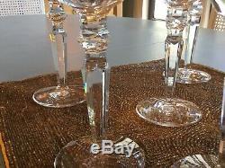 Waterford Crystal (Water/Wine) Glasses Charlemont (Set Of 7)