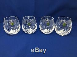 Waterford Enis Stemless Wine SET 4 Glasses 12oz NEW