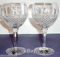 Waterford GLENMEDE Balloon Wine Juice (SET/2) Crystal Glass #114848 New Boxed