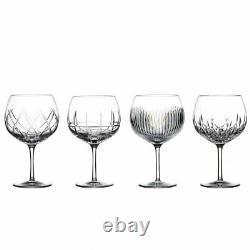 Waterford Gin Journeys Set Of 4 Balloon Wine Glasses #40034535 Brand Nib F/sh
