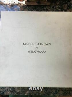 Waterford JASPER CONRAN SET OF 2 STRATA Signed Crystal Wine Goblets. RARE