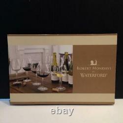 Waterford Robert Mondavi Crystal Set 6 Bordeaux Wine Glasses 10 Cr1737