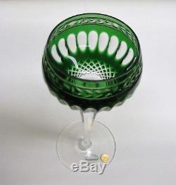 Wedgewood Cut Crystal Glass, Wine Hocks, set of 6