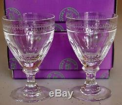 William Yeoward Crystal Gloria Large Wine Signed 6 Available Sold as Set of 2