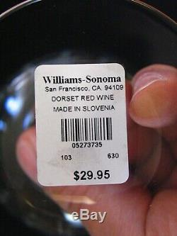 Williams Sonoma Dorset Red Wine Glasses, Set of (6)